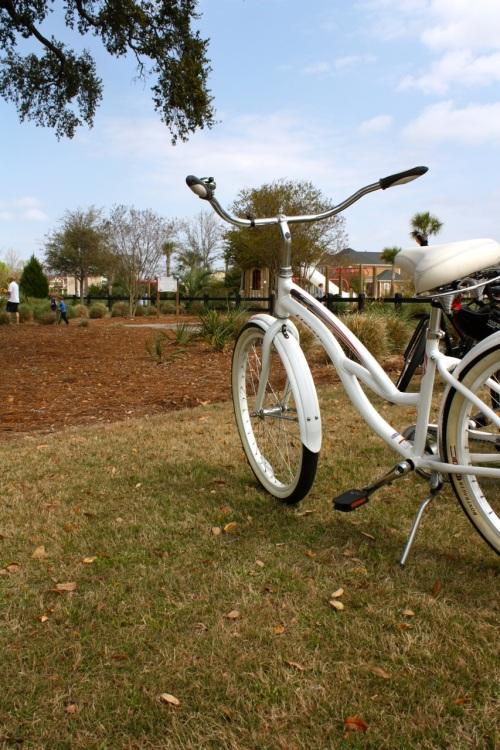 White Bike - Spring - Alesya Bags