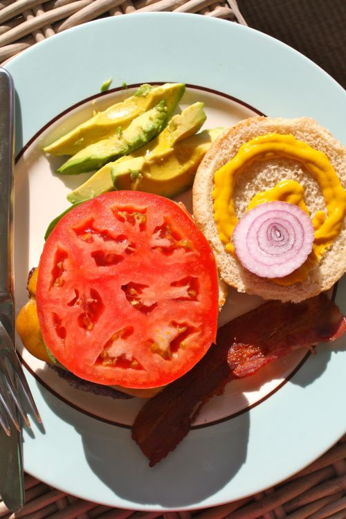 Burger Open - Alesya Bags