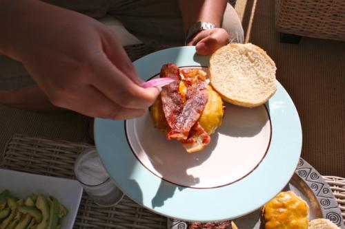 Bacon Burger - Alesya Bags