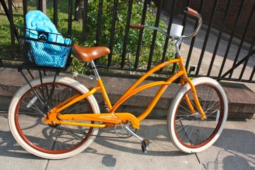 Orange Bicycle - Alesya Bags